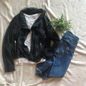 Hollister Charcoal Jacket